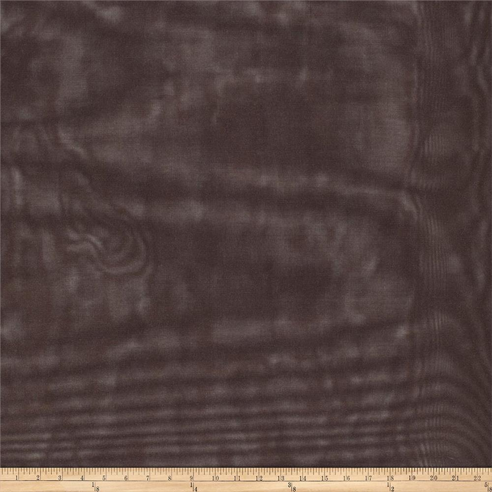 "Trend 02299 113"" Wide Drapery Sheer Chestnut"