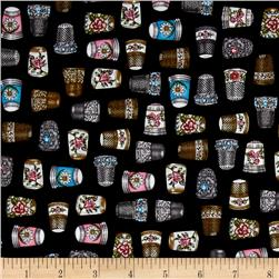 Thimble Pleasures Thimbles Black
