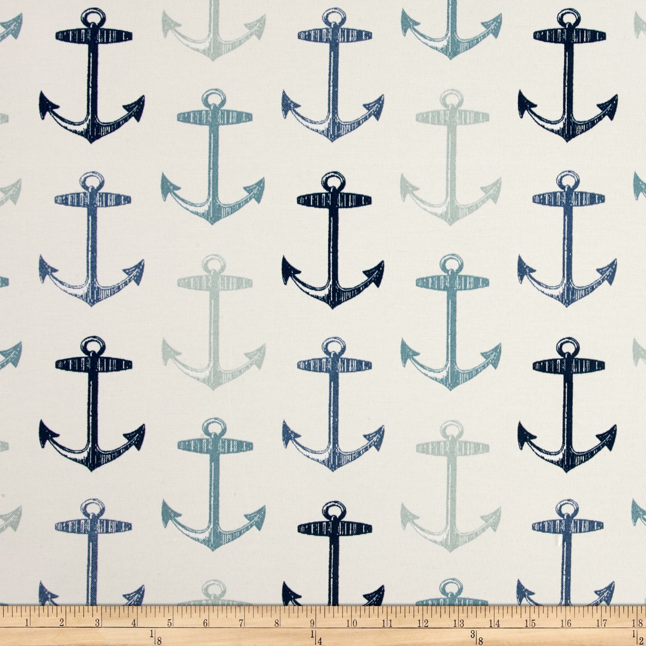 Image of Bryant Indoor/Outdoor Anchor Allover Arbor White Fabric