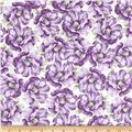 Timeless Treasures Veranda Packed Floral Lilac