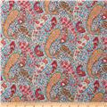 Liberty Of London Tana Lawn Bourton Red/Aqua