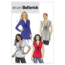 Butterick Misses' Top Pattern B5495 Size BB0