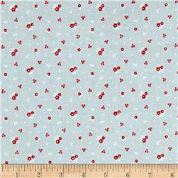 Riley Blake Sweet Orchard Floral Gray