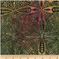 Timeless Treasures Tonga Batiks Calypso Kaleidoscope Garden