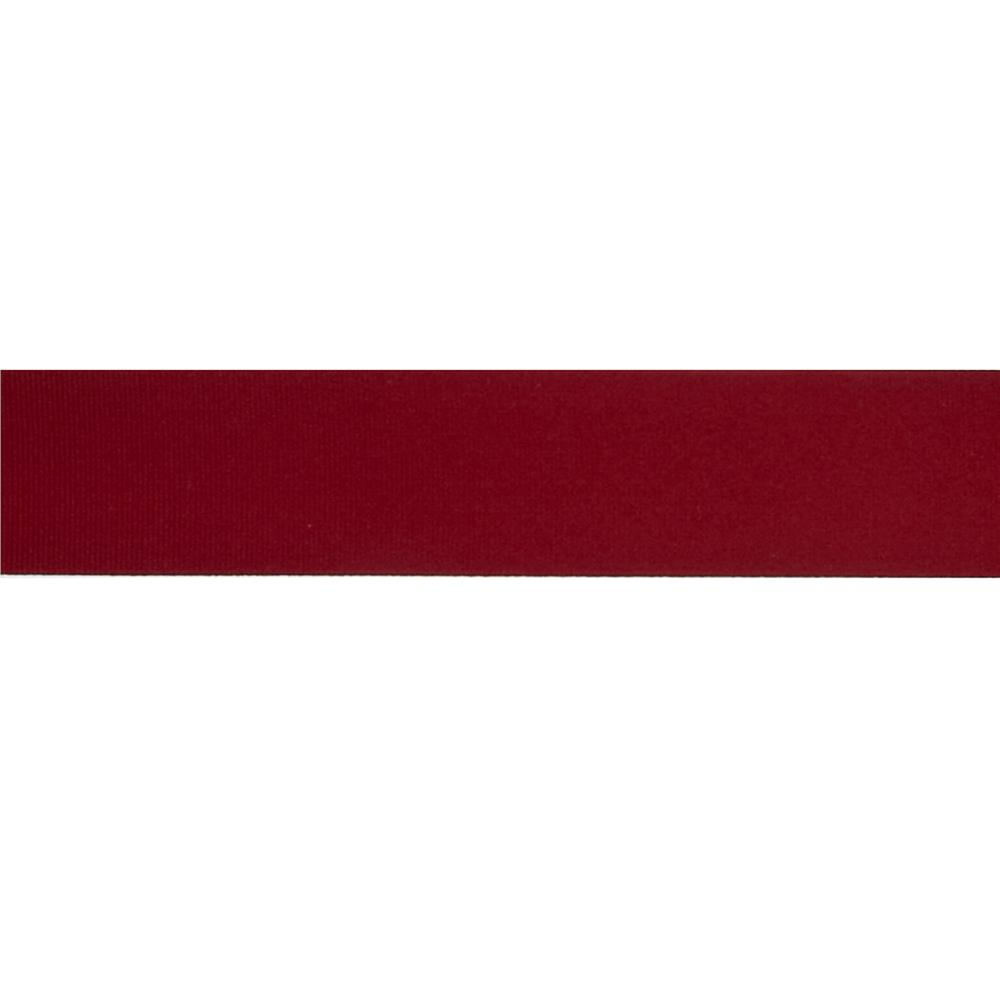 "May Arts 1 1/2"" Grosgrain Ribbon Spool Burgundy"
