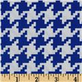 Michael Miller Everyday Houndstooth Royal