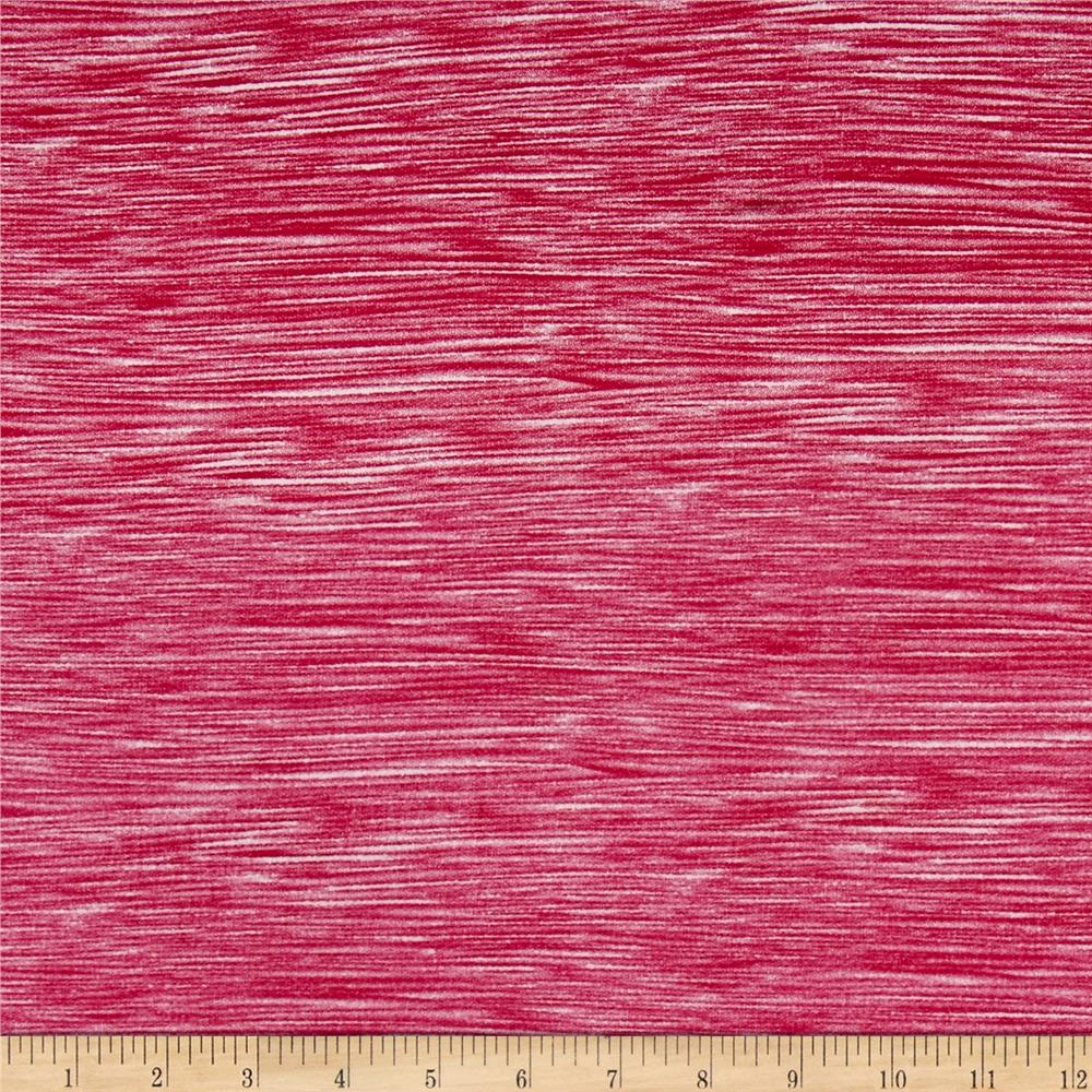 Double Brushed Spandex Jersey Knit Milana Fuchsia