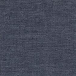 Kaufman Chambray Union Light Shirting 2 oz. Indigo