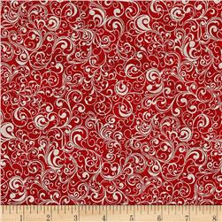 Suite Christmas Metallic Waltz Cherry