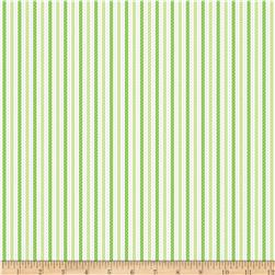 Riley Blake Home for the Holidays Stripe Green
