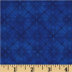 Esperanza Geo Spanish Plaid Fiesta Blue