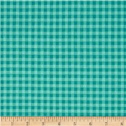 Stitcher's Garden Small Gingham Teal