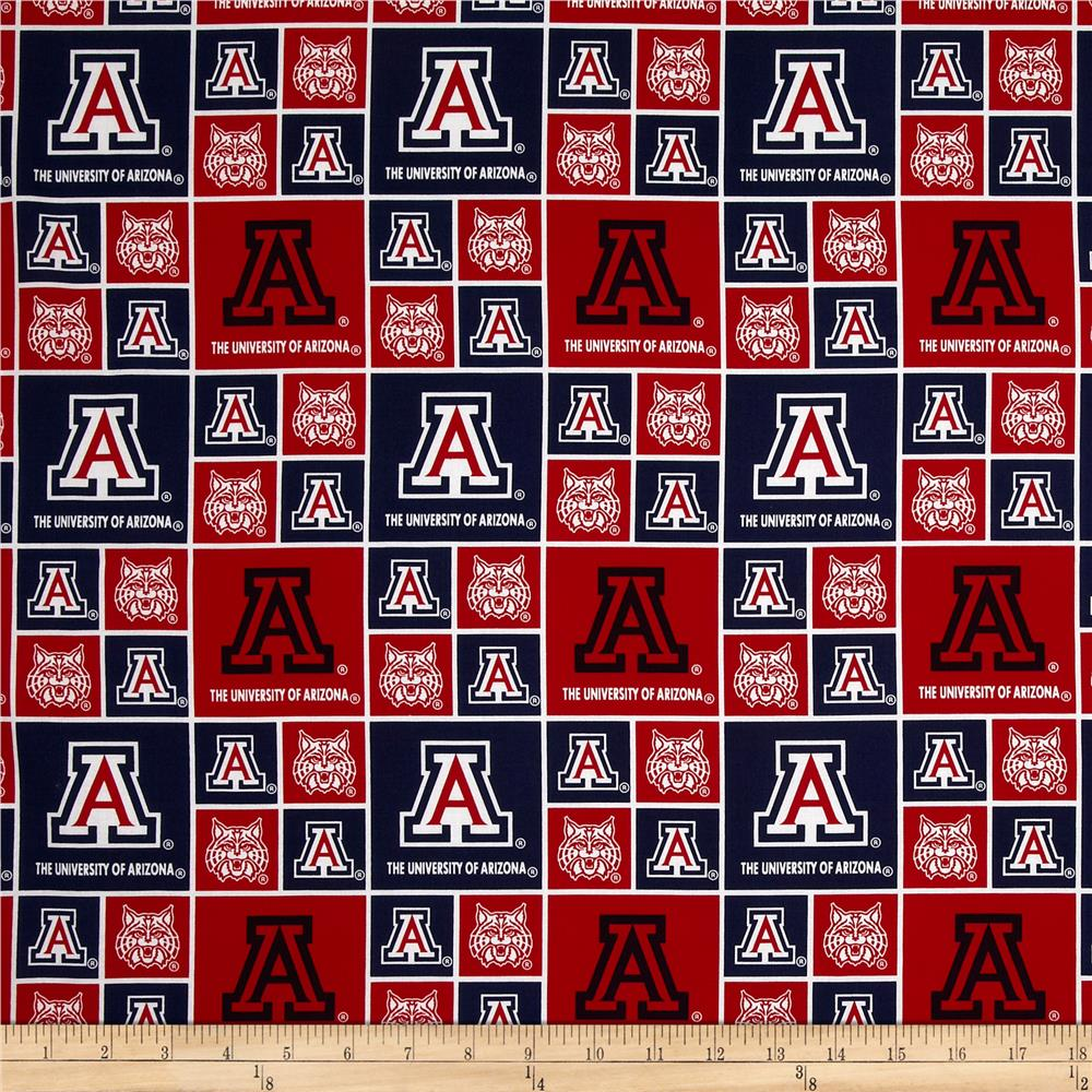 Collegiate Cotton Broadcloth Arizona