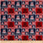 Collegiate Cotton Broadcloth Arizona Blue