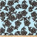 Ty Pennington Home Decor Sateen Spring 11 Asian Floral Ice