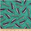 Open Road Chrome Logos Turquoise