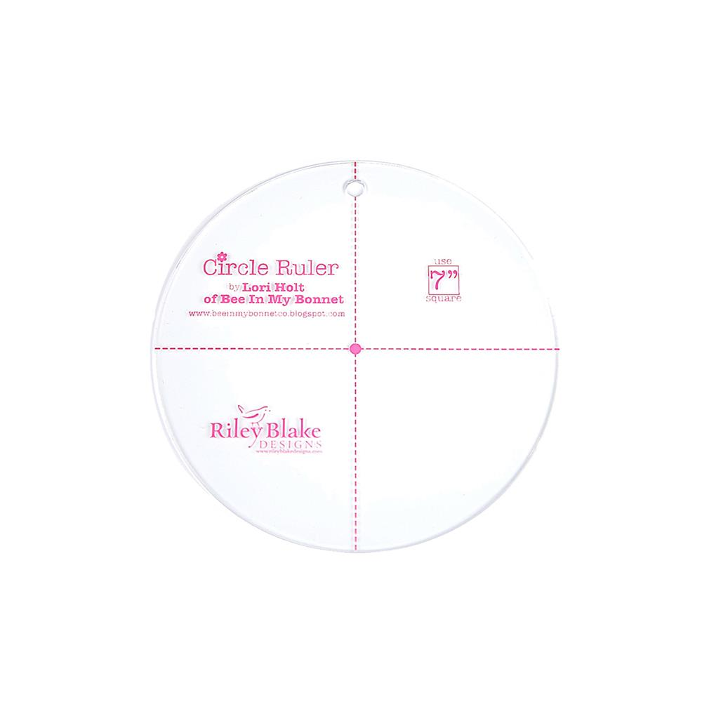 Lori Holt Circle Ruler 7""
