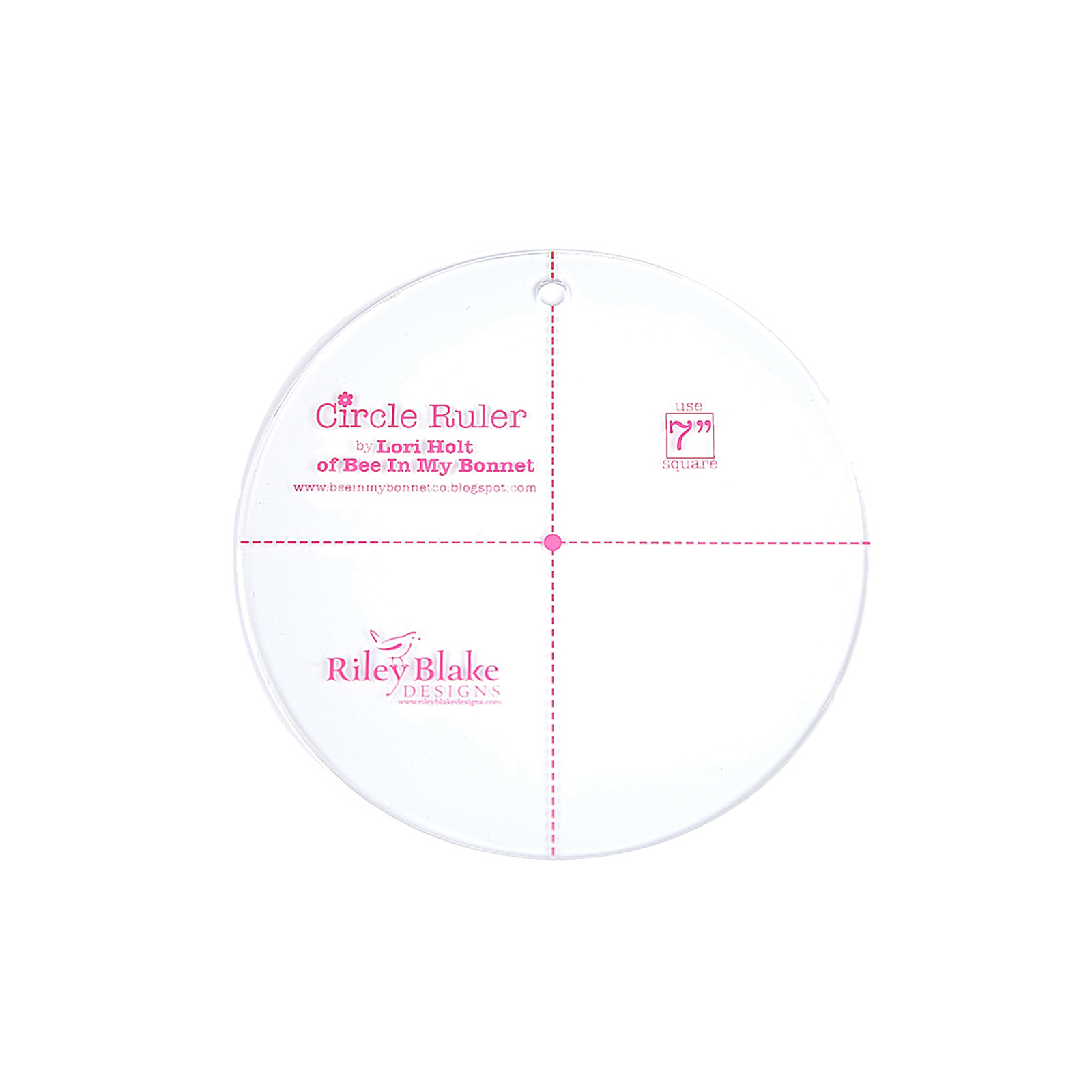 Lori Holt Circle Ruler 7''