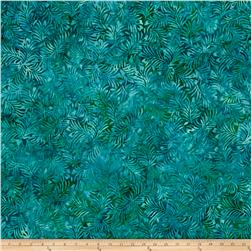 Wilmington Batiks Hearts and Ferns Aqua