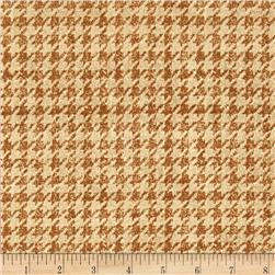 Penny Rose Menswear Houndstooth Tan