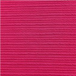 Telio High Low Pique Knit Fuschia