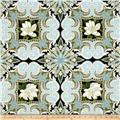Kanvas Southern Charm Magnolia Medallion Powder Blue