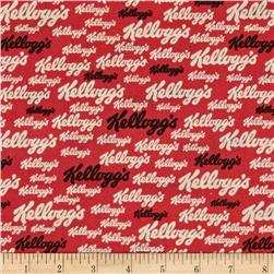 Kelloggs Red/Black/Cream Kelloggs Logo Red