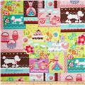 Girly Girl Patchwork Pink