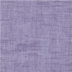 Stellar Textured Voile Grape