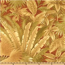 Tommy Bahama Indoor/Outdoor Bahamian Breeze Cinnamon Fabric