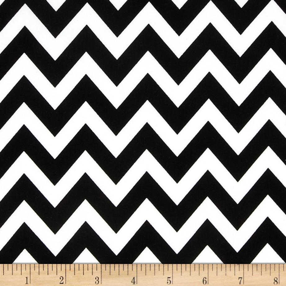 Remix Chevron Black