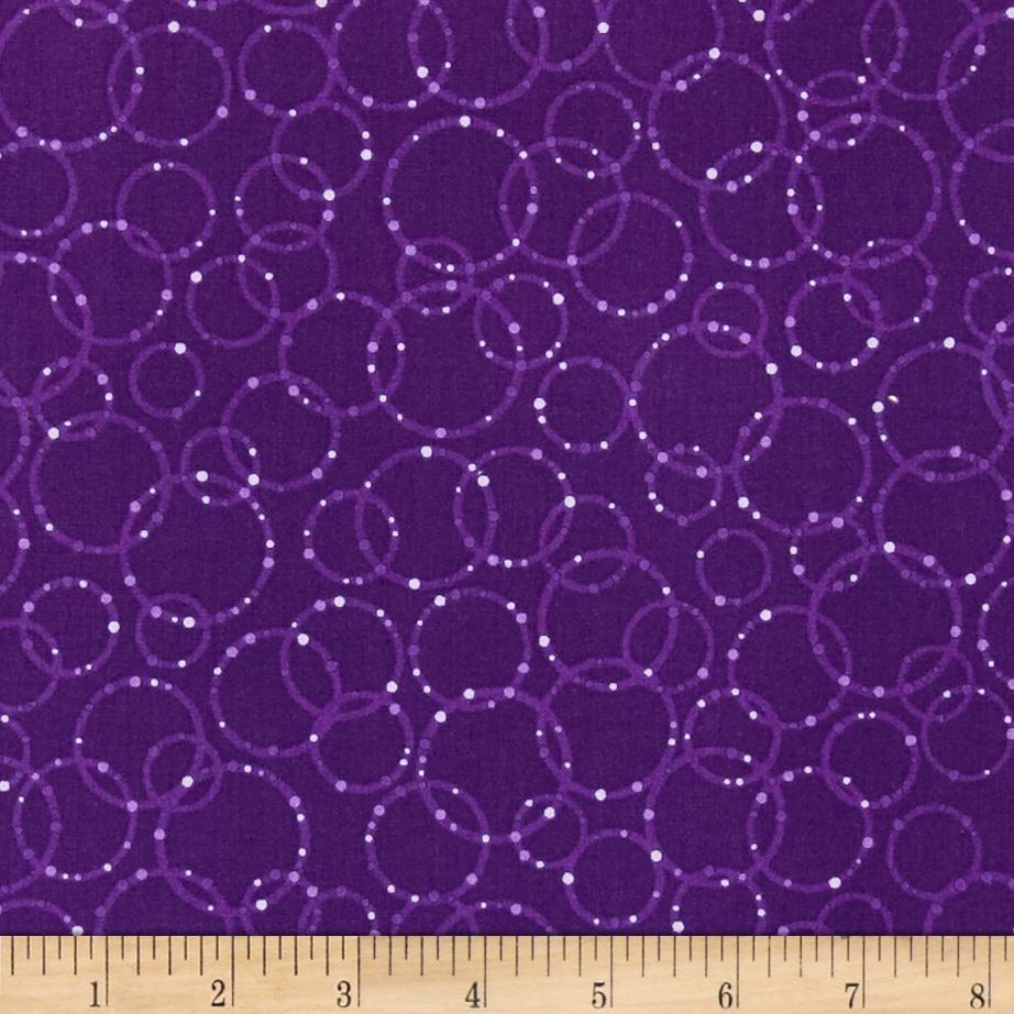 Dazzle Random Circles Boysenberry