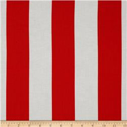 Michael Miller Two by Two Stripe Clementine Fabric