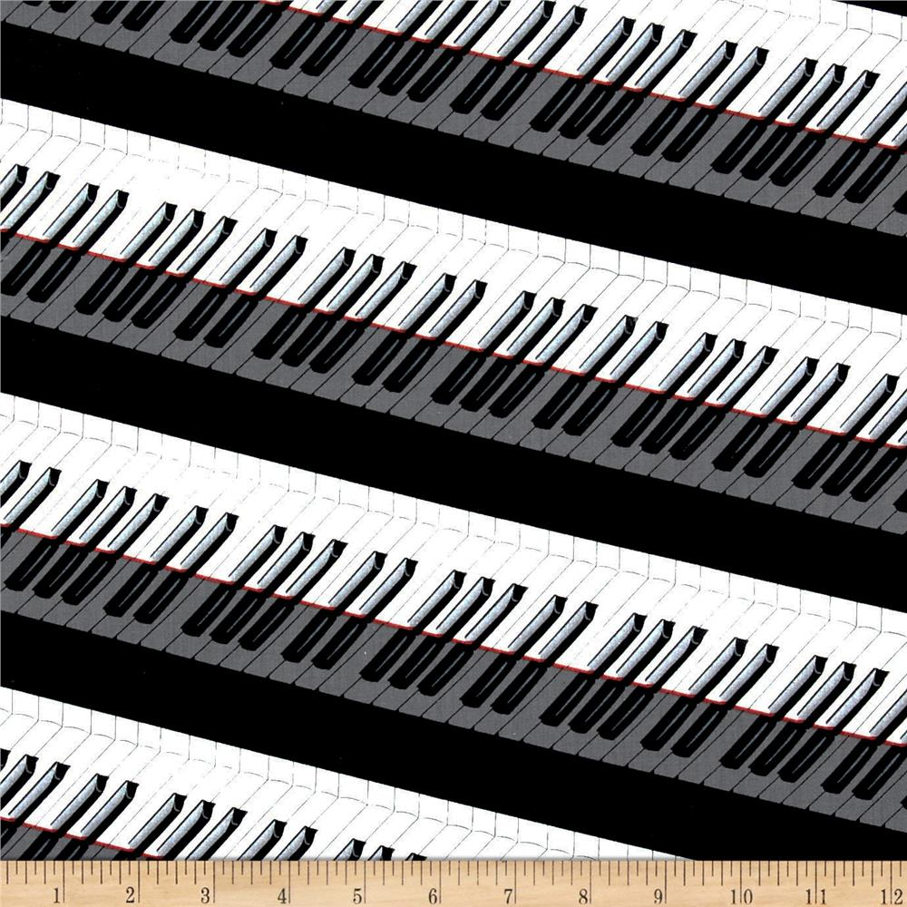 Concerto Piano Keys Black