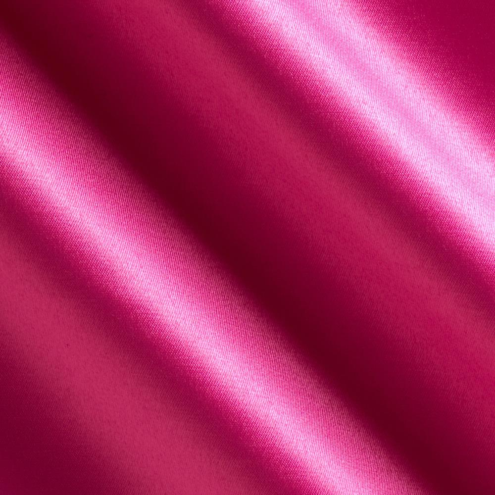 Stretch Glamour Satin Cerise