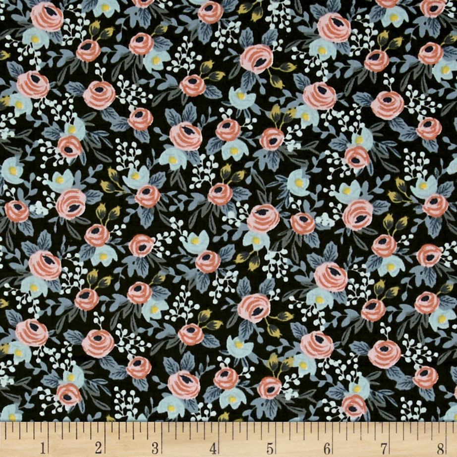 Image of Cotton + Steel Rifle Paper Co. Menagerie Rosa Hunter Fabric