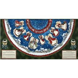 Angels On High Tree Skirt Multi