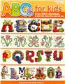"Leisure Arts ""ABCs for Kids"" Cross Stitch Alphabets Book"