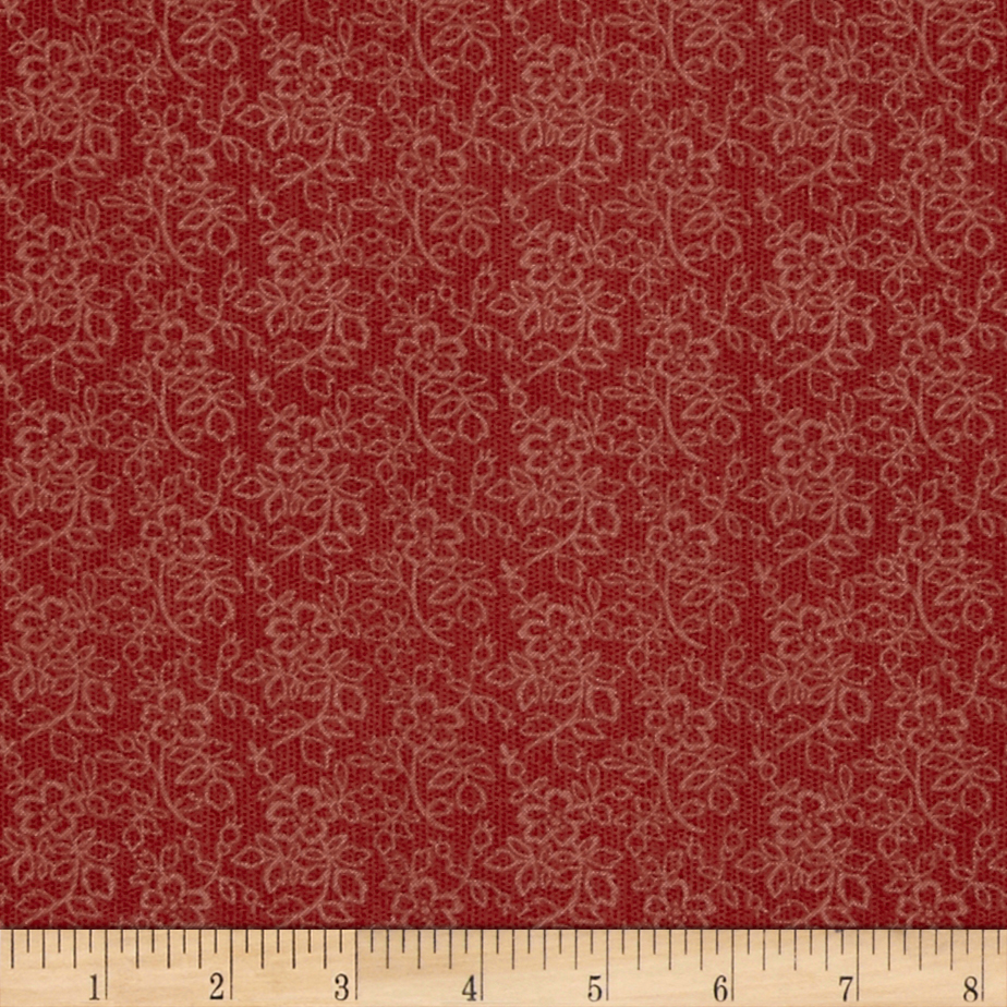 Bella Flower Vines Blush Fabric by Fabri-Quilt in USA