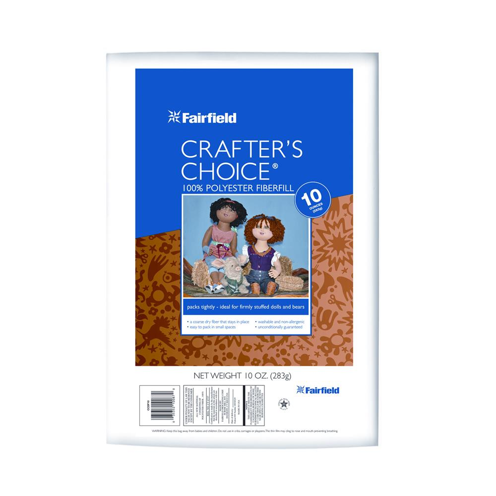 Fairfield Crafter's Choice Dry Poly Fiber 10 oz