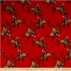 Polar Fleece Ride em Cowboy Red