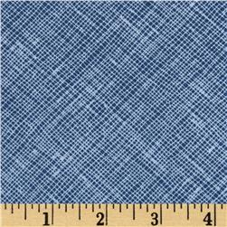 Architextures Grid Plaid Cadet