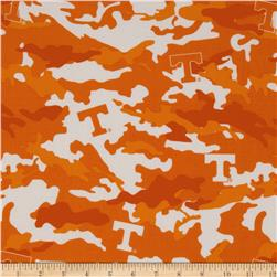 Collegiate Cotton Broadcloth The University of Tennessee Camouflage