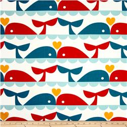 Birch Organic Marine Too Whale Love Multi