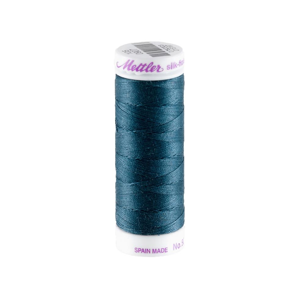 Mettler Cotton All Purpose Thread Slate Blue