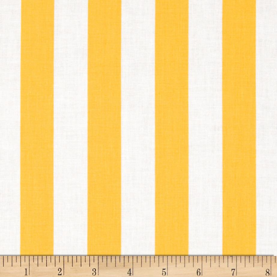 "Riley Blake 1"" Stripe Yellow"