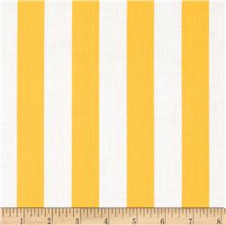 Riley Blake 1'' Stripe Yellow