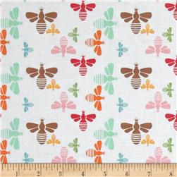 Riley Blake Flower Patch Bees Multi