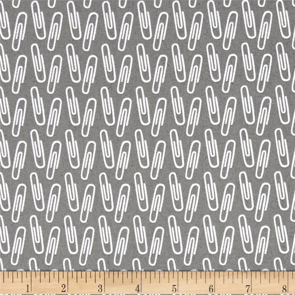 Type Paperclips Grey