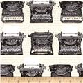 Objects Typewriters Vintage Tan